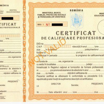 certificat-de-calificare-profesionala-not-valid