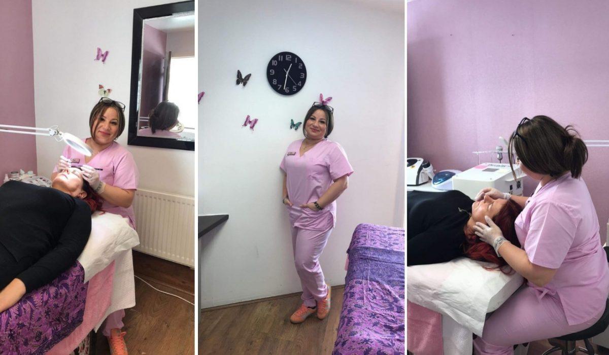 Roxana Oprescu, cariera de succes in cosmetica in Marea Britanie