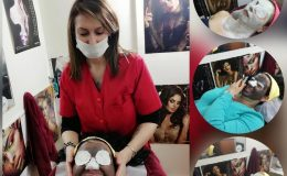 Eleve de succes in cosmetica: Jeaninne Andrei