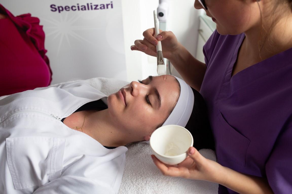 curs cosmetica modul terapii faciale
