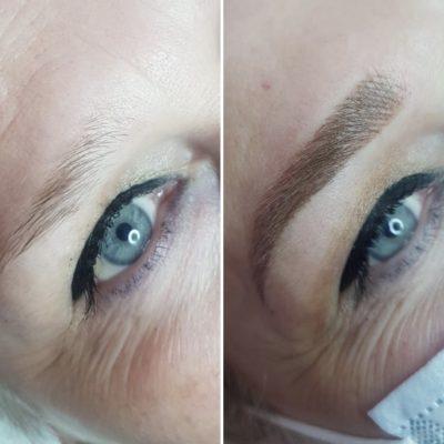 Tehnici de top pentru sprancene perfecte: before&after