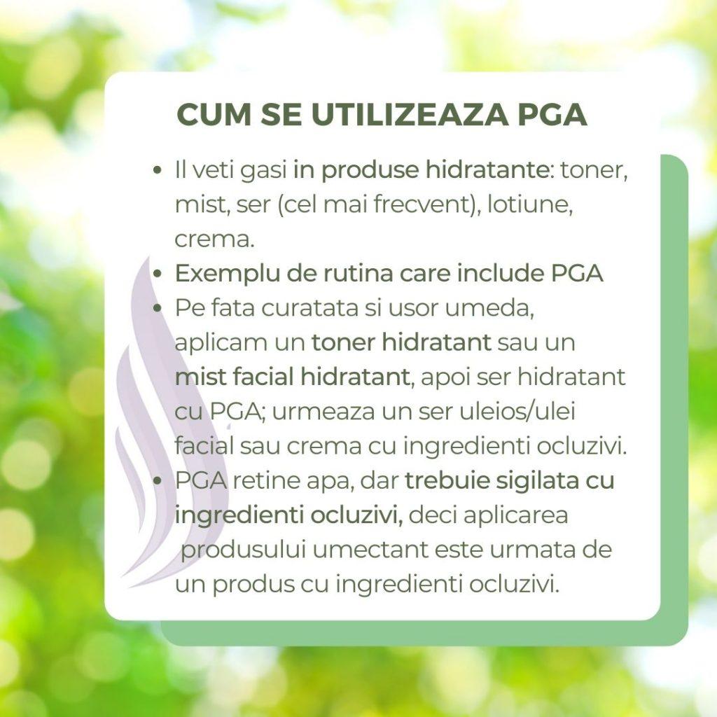 acidul poliglutamic utilizare