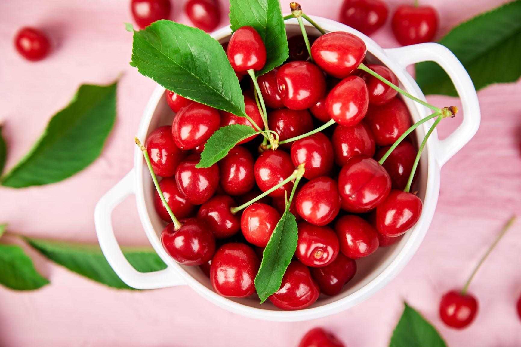 alimentatie piele cirese